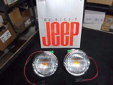 Jeep CJ, CJ Laredo, Renegade, Park and turn signal lamp