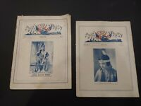"""Rare signed No.1, Vol. 1 """"The American Indian"""" magazine Oct. 1926 + May 1928"""