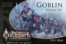 28mm Goblins For Oathmark Mass Battle Fantasy Rules. D&D, Great For Kings Of War