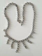 necklace. Very Good condition. Vintage Art Deco Diamanté