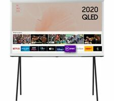 Samsung The Serif QE49LS01TAUXXU 49'' Smart 4K Ultra HD HDR QLED TV 2020 White