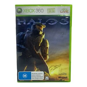 Halo 3 for Xbox 360 - Complete w Manual - Tested & Working