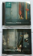 FUNERAL FOR A FRIEND MONSTERS rare UK CD Singles Brand New! 2005