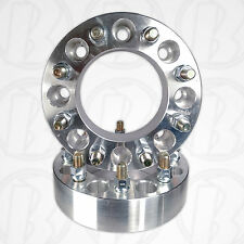 """2 pc. USA 8 Lug 170mm To 8 x 170mm Wheel Adapter/Spacer 2"""" 14MM 2.0 Studs & Nuts"""
