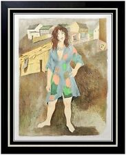 Raphael SOYER SIGNED Isaac Singer Gentleman From Cracow Hodle DELUXE Lithograph