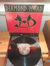 "DIAMOND HEAD ""Death & Progress"" LP ESSENTIAL UK 1993 - INNER"