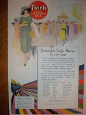 Twink clothing dye Uk advert 1922 Colour
