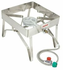 Bayou Classic 1114 Outdoor Stainless Patio Stove Propane Camping Gas Cooker