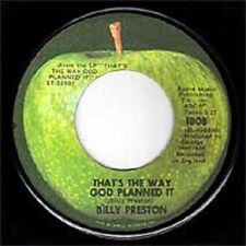 Billy Preston - That's the Way God Planned It  Apple 7""