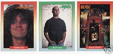 1991 BROCKUM ROCKCARDS 288 CARD SET BON JOVI MOTLEY CRUE AC/DC POISON ROCK CARD