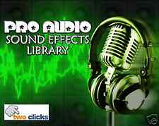 Cool Audio Sound Effects and Samples on DVD-ROM. Great Sounds!