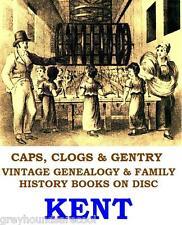 Kent Genealogy Parish Reg Local History Topography 48 Vintage Books on Data Disc