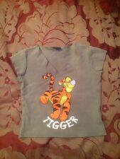 "New Look Disney Girls T-shirt Size 134-140 Cm ""Tigger"" VGC"
