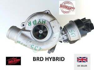 BRD HYBRID Turbocharger no. 53039880109 for Audi A4, 2.0 TDI (B7). 230 hp +