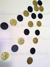 black gold glitter drop bunting party shower wedding decoration