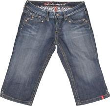 Edc by Esprit Jeans  Gr. 30  Kurzhose  Kurzjeans  Stretch  Used Look
