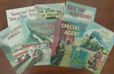 Lot of 7 Bill Bunce - Association Of American Railroads Comics 1950's