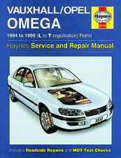 3510 Haynes Vauxhall/Opel Omega Petrol (1994 - 1999) L to T Workshop Manual