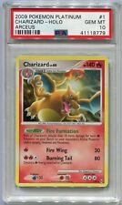 Pokemon Card Unlimited Charizard LV. 60 Arceus Set 1/99, PSA 10 Gem Mint