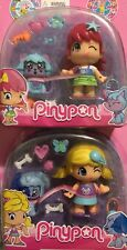 Famosa PINYPON Collectors- 2 Dolls with a Pet Each