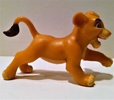 """Vintage Disney The Lion King """"Young Cub Simba Running"""" PVC Cake Topper Figure 94"""