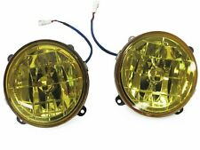 DEPO 99 00 01 Subaru Impreza JDM Yellow Glass Fog Lights Set 2.5RS GC8 GF8 WRX