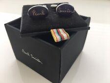 NEW Paul Smith Purple Signature Cufflinks With Box £85 FREEPOST BARGAIN!!!