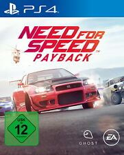 Need For Speed: Payback (Sony PlayStation 4, 2017)