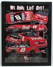 Autographed Signed Dale Earnhardt Jr Sr #8 Monte Carlo Framed Poster Print COA