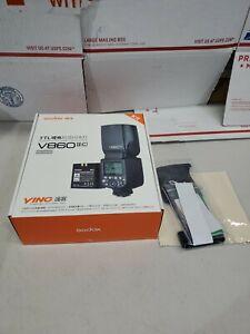 US Godox V860II-C 2.4G i-TTL HSS Camera Flash Speedlite  For SONY NEW FAST SHIP