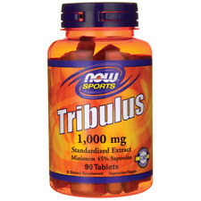 Now Foods, Sports, Tribulus, 1,000 mg, 90 Tablets , Natural Test Booster