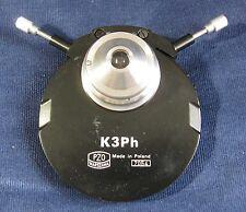 PZO K3Ph Phase Contrast Mikroskop Phasenkontrast microscope condenser Leitz