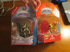 Skylanders Trap Team MASTER KRYPT KING + WILDFIRE GOLD LOT SET 2 FIGURES RARE