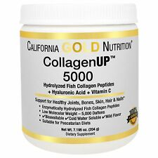 Fish Collagen 204 gr 5000mg Hylauronic Acid Vitamin C California Gold Nutrition