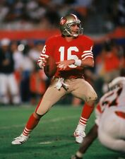 Joe Montana San Francisco 49ers UNSIGNED 8X10 Photo (B)