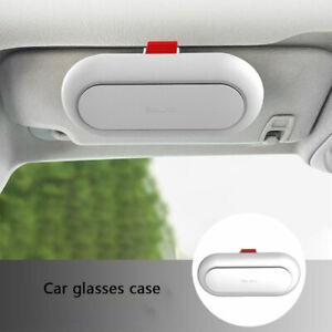 Universal Car Interior Glasses Case Built-in Fiber Velvet Sunglasses BoxM!