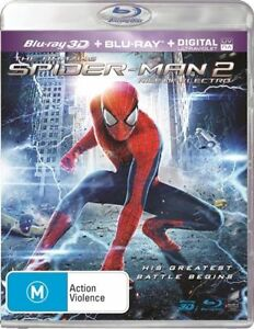 The Amazing Spider-Man 2 - Rise Of Electro (Blu-ray, 2014, 2-Disc Set)