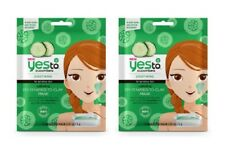 Yes To Cucumbers Soothing for Sensitive Skin DIY Powder to Clay Mask, 1 Ct (2Pk)