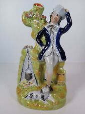 Staffordshire Figurine Spill Vase, Appr.23cm Tall
