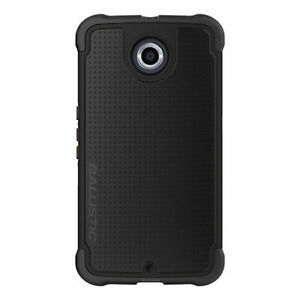 Ballistic Motorola Nexus 6 Tough Jacket Series Case TJ1539-A06C - Black