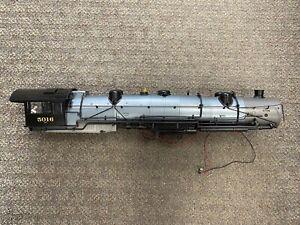 + MTH G One Gauge Erie #5016 2-8-8-8-2 Triplex Steam Engine Shell For Parts