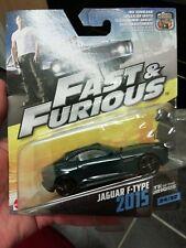 Fast Furious Mattel JAGUAR F-TYPE 2015 # 24