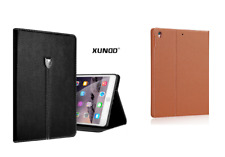 Genuine Soft Leather XY Smart Case Stand Magnetic Cover for Apple iPad Mini 123