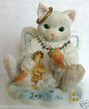 "Calico Kittens -""Joy To The World"" Figurine #625264 By Enesco 1994 New!"