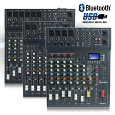 More details for choice studiomaster club xs 6 8 10 channel pa mixer desk usb bluetooth playback