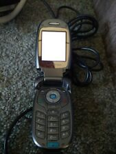 New listing Lg Vx8300 Verizon Wireless Gray Flip Cell Phone Cellphone *Tested Working