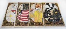 Rhys Cooper - Wild Animals (Fantastic Mr. Fox) - Wood Variant - Poster/Print