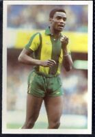 LEAF-100 YEARS OF SOCCER STARS FOOTBALL-#014- LEICESTER CITY - LAURIE CUNNINGHAM
