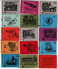 COLLECTION 30 STITCHED STAMP BOOKLETS ALL DIFFERENT