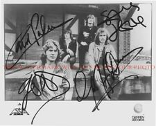 ASIA GROUP BAND SIGNED AUTOGRAPHED 8x10 RP PROMO PHOTO GREAT 80's CLASSIC ROCK